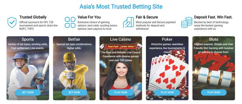 Enter the World of Casino and Sports Betting Online, Register to Fun88