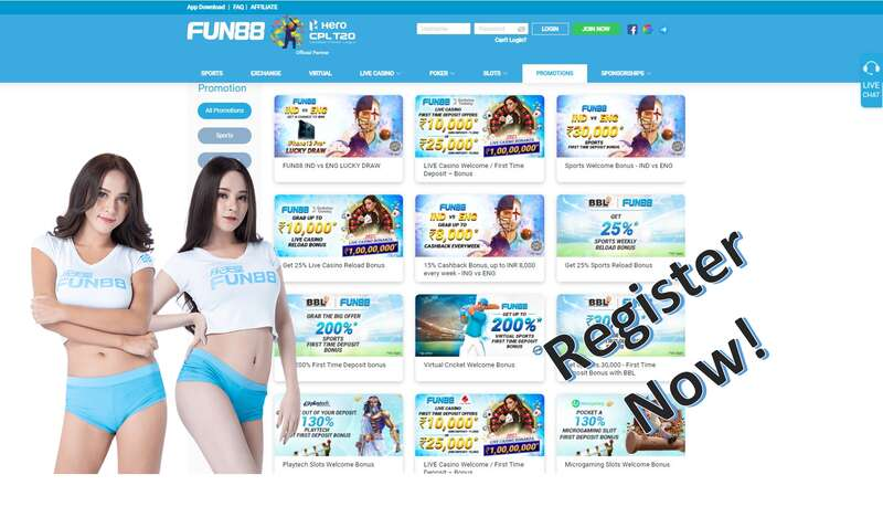 Register to Fun88, Fast, Secure, and More Rewarding