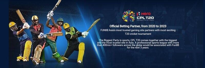 Start Betting with The Winning Team Fun88 Sport Online - Cricket