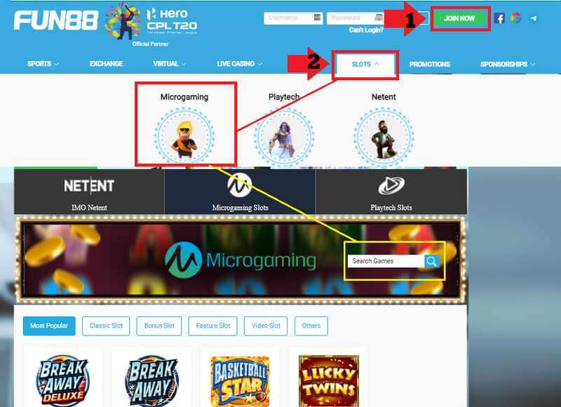 How to Play Microgaming Slot in Fun88