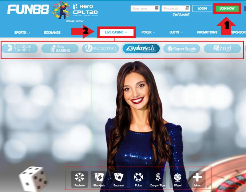 How to Enjoy FUN88's Prestige Casino